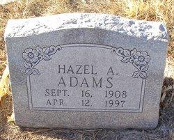 Hazel A Adams
