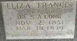 "Elizabeth Francis ""Eliza"" <I>Sparrow</I> Long"