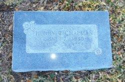 Henry Wade Chapman