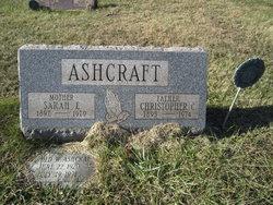 Sarah Elizabeth <I>Bagley</I> Ashcraft
