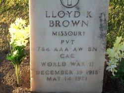 Lloyd Kenneth Brown