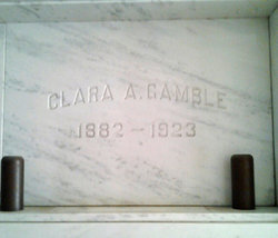 Mrs Clara Christine <I>Abernathy</I> Gamble