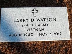 Larry D Watson