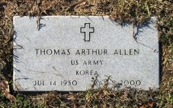 "Thomas Arthur ""Buddy"" Allen, Sr"