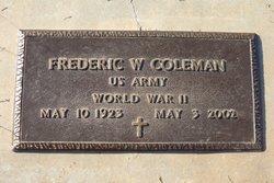 Frederic William Coleman