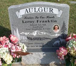 """Leroy Franklin """"Frank"""" Aulgur, Sr"""