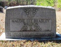 Maudie Lee <I>Bradley</I> Walden