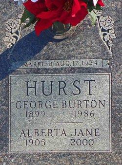 Alberta Jane Hurst