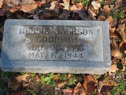 Bessie <I>Jackson</I> Goodwin