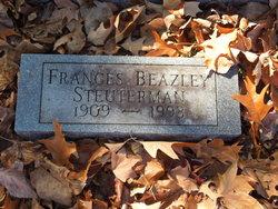Frances <I>Beazley</I> Steuterman