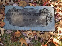 Thomas Jeff Wade