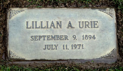 Lillian Annabelle <I>Hunt</I> Urie