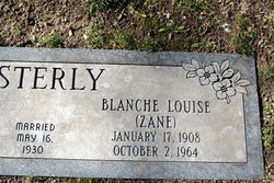 Blanche Louise <I>Zane</I> Esterly