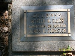Ava Leula <I>Johnston</I> Bowers