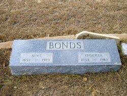 "Newton G ""Newt"" Bonds"