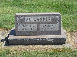 Chester M Alexander