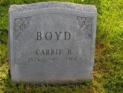 Carrie A Boyd
