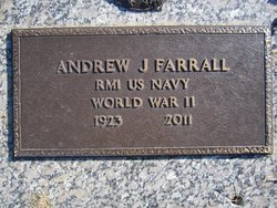 "Andrew Jackson ""A.J. - Jay"" Farrall"