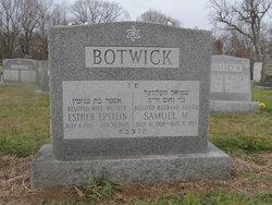 Esther <I>Epstein</I> Botwick