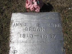 Annie B. <I>Wynn</I> Brown