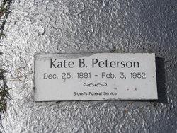 Kate B. Peterson