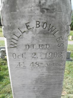 Will E Bowles