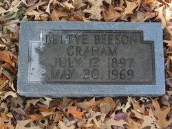 Bettye <I>Beeson</I> Graham