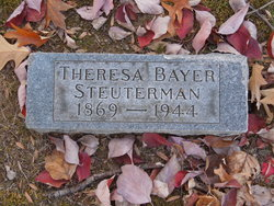 Theresa <I>Bayer</I> Steuterman