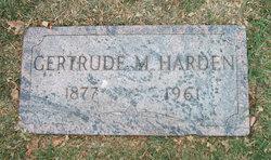 Gertrude <I>Morse</I> Harden