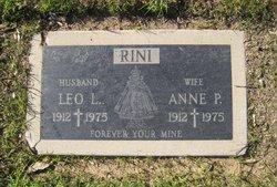 Anne P <I>Lunogo</I> Rini
