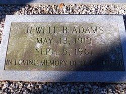 Jewell B. Adams
