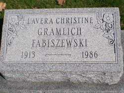 Lavera Christine <I>Gramlich</I> Fabiszewski