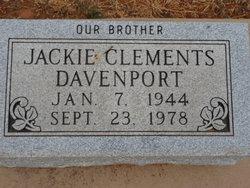 Jackie <I>Clements</I> Davenport