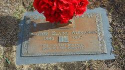 Kathen Elaine Alexander