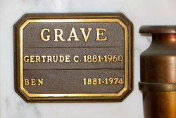 Gertrude C Grave