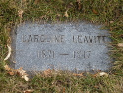 Dina Caroline <I>Dorrity</I> Leavitt