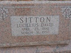 Lucillius D. Sitton