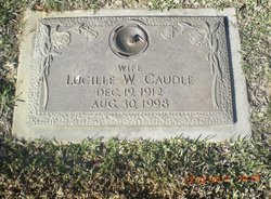 Virgie Lucille <I>Woolverton</I> Caudle