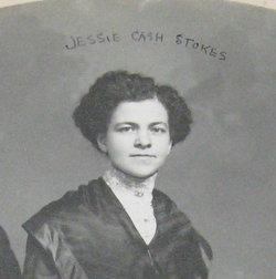 Jessie Mabel <I>Cash</I> Stokes