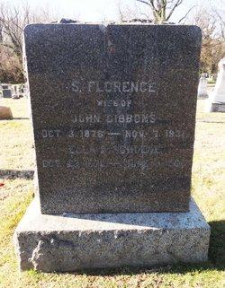 """Sarah Florence """"Florrie"""" <I>Curley</I> Gibbons"""