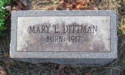 Mary E. Dittman