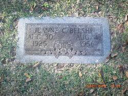 """Emma Jeanne """"Jeannie"""" <I>Clark</I> Belshe"""