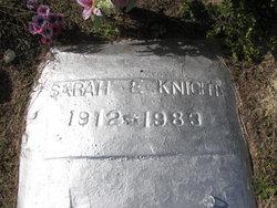 Sarah <I>Edmonds</I> Knight