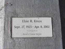 Elsie R. Knox