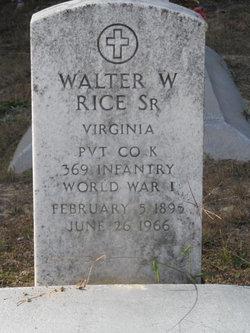Walter W. Rice, Sr.