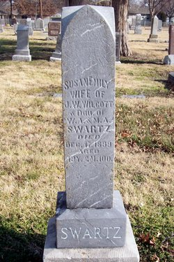 Susan Emily <I>Swartz</I> Wilcott