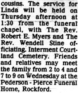 Linda Kay Ingraham Filkins 1945 1979 Find A Grave Memorial
