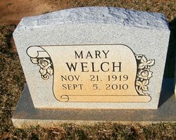 Mary M Welch