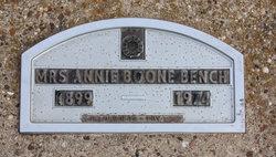 Annie M. <I>Boone</I> Bench