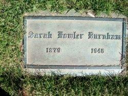 Sarah <I>Fowler</I> Burnham